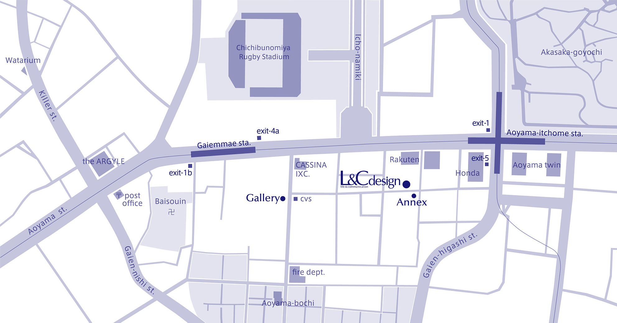 L&C design Access Map